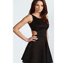boohoo Ashley Cut Out Sides Skater Dress - black azz53887 Skater dresses are a gorgeous shape on any figure, and we love this sleeveless dress with round neckline. It has a nipped in waist to show off your figure, with stunning side cut out details. The skir http://www.comparestoreprices.co.uk/dresses/boohoo-ashley-cut-out-sides-skater-dress--black-azz53887.asp