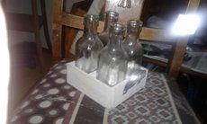 fire klare glassflasker i Langesund - letgo
