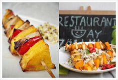 Így kell télen grillezni - saslik másképp - 100fok Tahini, Tacos, Mexican, Restaurant, Ethnic Recipes, Food, Diner Restaurant, Essen, Meals