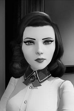 Comunidad Steam :: Captura :: Elizabeth, BW Bioshock Rapture, Bioshock Art, Bioshock Infinite Elizabeth, Elizabeth Cosplay, Elizabeth Comstock, Bioshock Cosplay, Bike Photo, Elisabeth, Cornelius