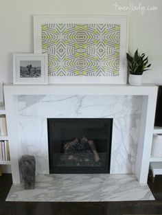 Riad Tile - Natural White - Zellige Nice fireplace by Chris Cipriano. They used our Natural White Zellige tile on the fireplace cladding. Marble Fireplace Surround, Fireplace Logs, Fireplace Remodel, Fireplace Surrounds, Fireplace Design, Fireplace Ideas, Fireplace Decorations, Fireplace Lighting, Fireplace Makeovers