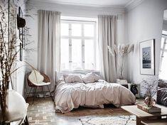 Best Scandinavian Bedroom Design For Simple Bedroom 24 Minimalist Bedroom, Modern Bedroom, Minimalist Decor, Home Decor Bedroom, Bedroom Furniture, Bedroom Ideas, Bedroom Inspo, Bedroom Inspiration, Daily Inspiration