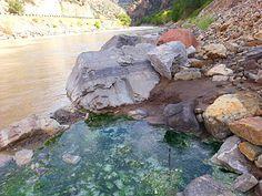 Colorado called Glenwood Springs