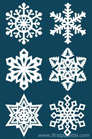Step 10b Paper Snowflake craft