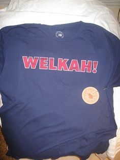 T-Shirt Jersey Welkah! 83 - XL by Wes Welker Store. $30.00. T-Shirt jersey with fun New England pronunciation of Welkah!. Limited quantities. Sizes S, M, L, XL, and 2XL