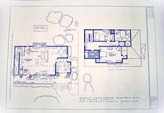 """The Andy Griffith TV Show House Home, 322 Maple Street Mayberry North Carolina, Full Size Blueprints 24"""" X 36"""""""