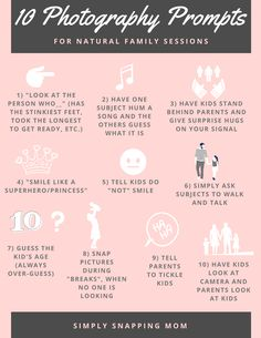 Family Photography Prompts