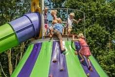 Attracties en zwemmen is wat gezinnen met kinderen het meeste aan zal spreken in het recreatiepark met diverse attracties en het subtropische zwemkasteel Van, Travel, Viajes, Destinations, Traveling, Trips, Vans, Vans Outfit