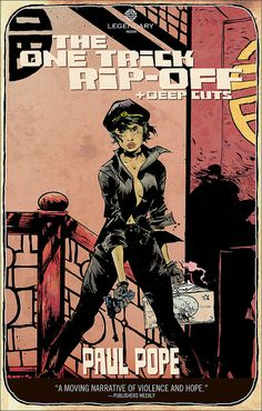 Jim Pascoe + Paul Pope: One Trick Rip-Off cover