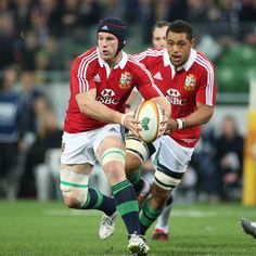 Sean O'Brien, pictured with ball in hand, and Toby Faletau were two of the Lions' big carriers at AAMI Park as Lions crushed Melbourne Rebels British And Irish Lions, Commonwealth Games, Rugby, Captain America, Melbourne, Crushes, Superhero, Park, Big