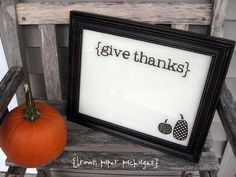 Great idea to have kids write what they are thankful for every day