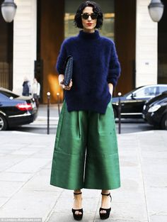 The culotte is making a comeback!