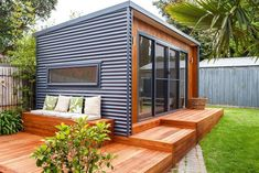 A well-formed shed adds glamour to outdoor places and provides a comfortable space for relaxing and dining. This shed is smartly designed as according to latest housing trends. A desk is designed at the front and side where you can sit and can breathe at the fresh, awe-inspiring open environment.