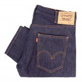 Levis Vintage 1960S 606 Rigid Slim Denim Jeans 30605-0030