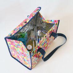 Sac Lunch, Lunch Box, Diy Pochette, Snake Knot, Krystal, Deco, Sewing, Crafts, Handmade
