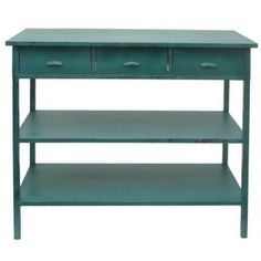 console table. I would love this in my studio
