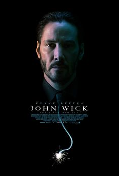 Keanu Reeves REALLY wants to make sure all his friends go see 'John Wick' this weekend.