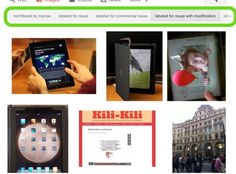 How to Search for Copyright Free Images on Your iPad
