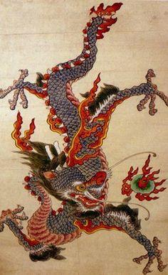 제가 용 그림을 좋아해서 몇개 가지고 있는 것입니다. 휴대폰 바탕화면으로 깔아 놓기도 했죠~ 용 그림에 대한 조회수 가 많아 가지고있기에 가지고 있는 그림 모두 올렸습니다. Dragon Tattoo Art, Small Dragon Tattoos, Dragon Art, Korean Art, Asian Art, Illustrations, Illustration Art, Ancient Japanese Art, Japanese Watercolor