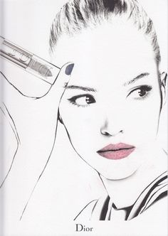 dior face chart - Google Search