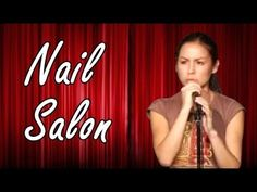 Anjelah Johnson - Nail Salon (Stand Up Comedy) - YouTube