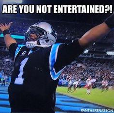 Cam Newton, everybody! Lol