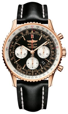 @breitling Watch Navitimer 01 #bezel-bidirectional #bracelet-strap-leather…