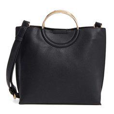 e41fbf7570bf Rank   Style - BP Metal Handle Faux Leather Crossbody Bag  rankandstyle