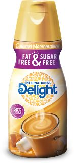 Fat-Free & Sugar-Free Caramel Marshmallow | International Delight - so freaking delicious, it's almost unbelievable!