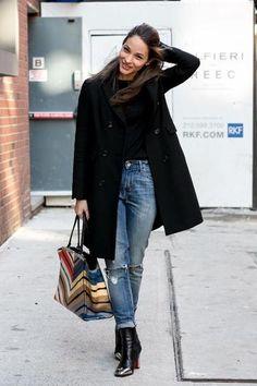 New York Fashion Week :: Street Style, Day 2