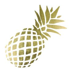 This gold pineapple is great for any trip to the beach. The pineapple is a…
