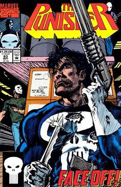 The Punisher # 63 Marvel Comics Vol. Marvel Comics, Hq Marvel, Marvel Series, Marvel Comic Books, Comic Book Characters, Comic Character, Captain Marvel, Punisher Comic Book, Punisher Comics
