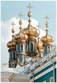 Domes of the Catherine Palace
