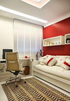Home office+ quarto hóspedes