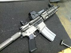 "New Cerakote Custom Color ""Urban Wolf"" onmy AR Pistol - AR15.Com Archive"
