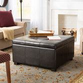 Found it at Wayfair - Bronwyn Storage Ottoman