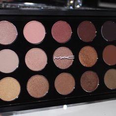 ♕Pinterest // SarahKathleenxx http://www.maccosmetics.com/product/13835/28062/Products/Makeup/Eyes/Eye-Palettes-Kits/Eye-Shadow-x15-Warm-Neutral