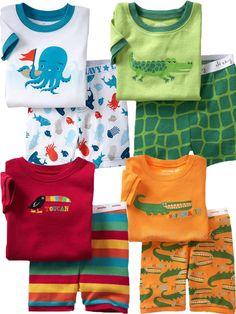New Gap Baby Boy Pyjamas Cute Designs Shorts Sleeved Size At 1.2.3.4.5.6.7   eBay