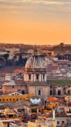 Rome, ville ouverte, ville musée, ville éternelle des amoureux