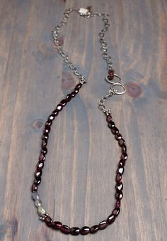 Original Hardware makes sterling jewelry in Colorado.  I love the variety in this necklace.