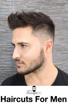 40 Simple, Regular, Clean Cut Haircuts for Men - Men's Hairstyles - Men's style, accessories, mens fashion trends 2020 Mens Hairstyles Fade, Trendy Mens Haircuts, Cool Hairstyles For Men, Trending Haircuts, Cool Haircuts, Short Hairstyles For Men, Hipster Hairstyles Men, Viking Hairstyles, Men's Hairstyles