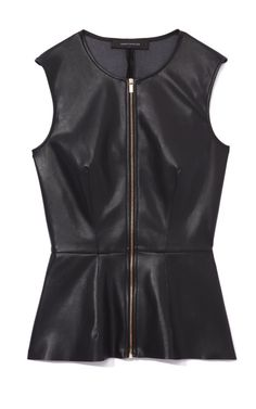 Leather Top by Cedric Charlier