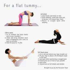 Yoga for a flat tummy