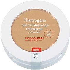 NEUTROGENA skin clearing mineral powder. Genius.