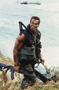 Commando - Publicity still of Arnold Schwarzenegger -Watch Free Latest Movies Online on Moive365.to Arnold Schwarzenegger Bodybuilding, Arnold Schwarzenegger Movies, 80s Movies, Action Movies, Great Movies, Film Serie, Badass Movie, Bodybuilding Pictures, Tough Guy