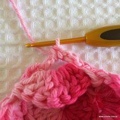 Flor roseta passo a passo - www.croche.com (33)