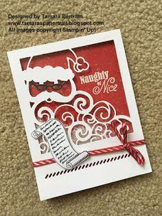 Tamara's Paper Trail: Santa Shaker Card Tutorial