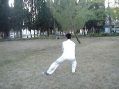 Chen Style 24-form tai chi (we call this Lajia yi lu and the form is a bit different)
