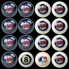 Minnesota Twins Billiard Ball Set