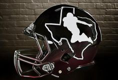 JFF Heisman pose silhouette helmets by@rcb05gbh
